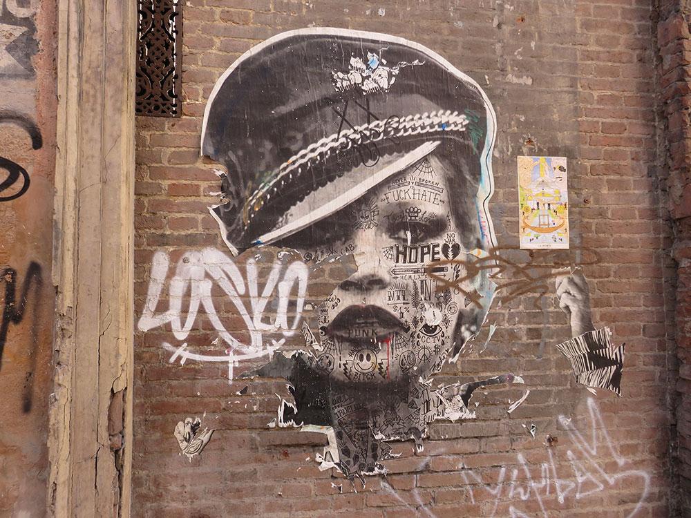 mural u Bolonji