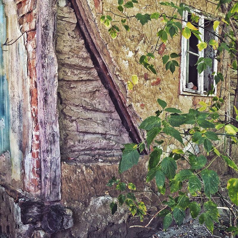 trošan zid stare kuće