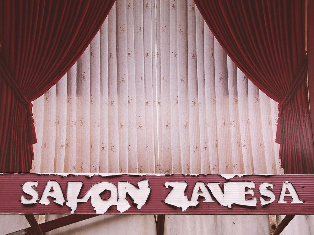 Reklama za salon zavesa