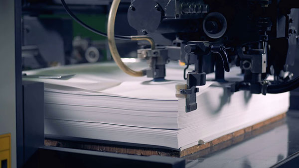 presa za štampanje na hartiji