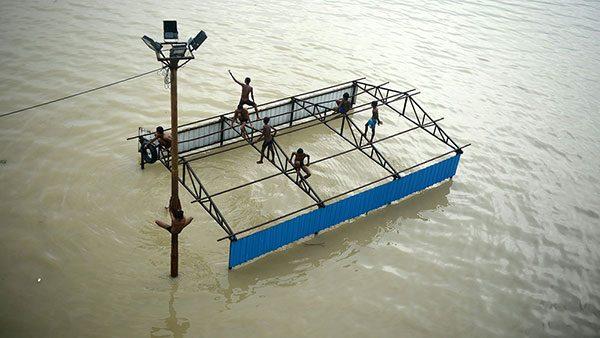 Reka Gang, Indija