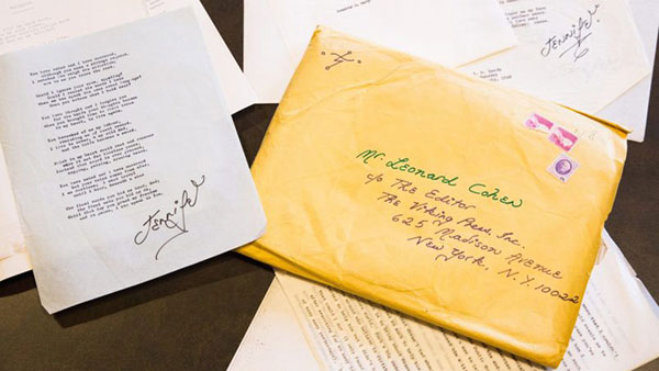 pisma poslata Koenu