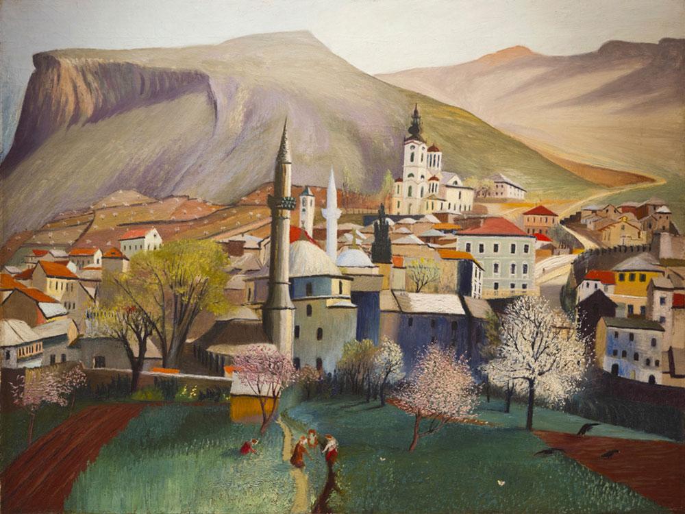 Proleće u Mostaru, Tivadar Kosztka Csontváry (1853-1919)