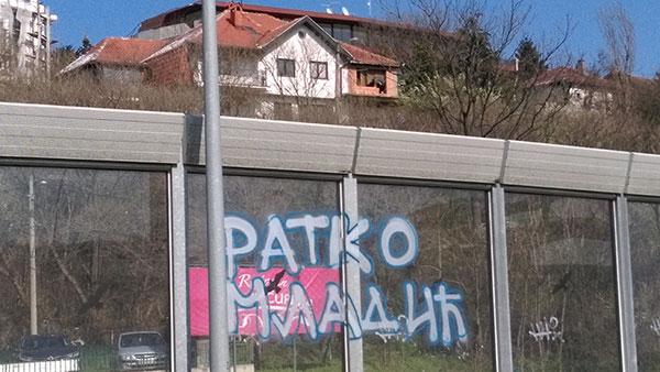 Grafit Ratko Mladić