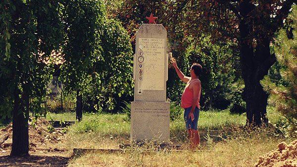spomenik sa petokrakom