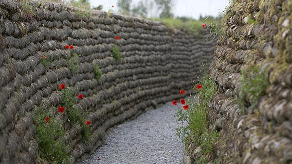 Rovovi iz Prvog svetskog rata, Belgija