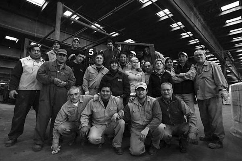 Radnici fabrike keramike Zanon u Argentini, 2010.