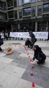 Протест у Београду, Плато код Филозофског, 26.12.2018.