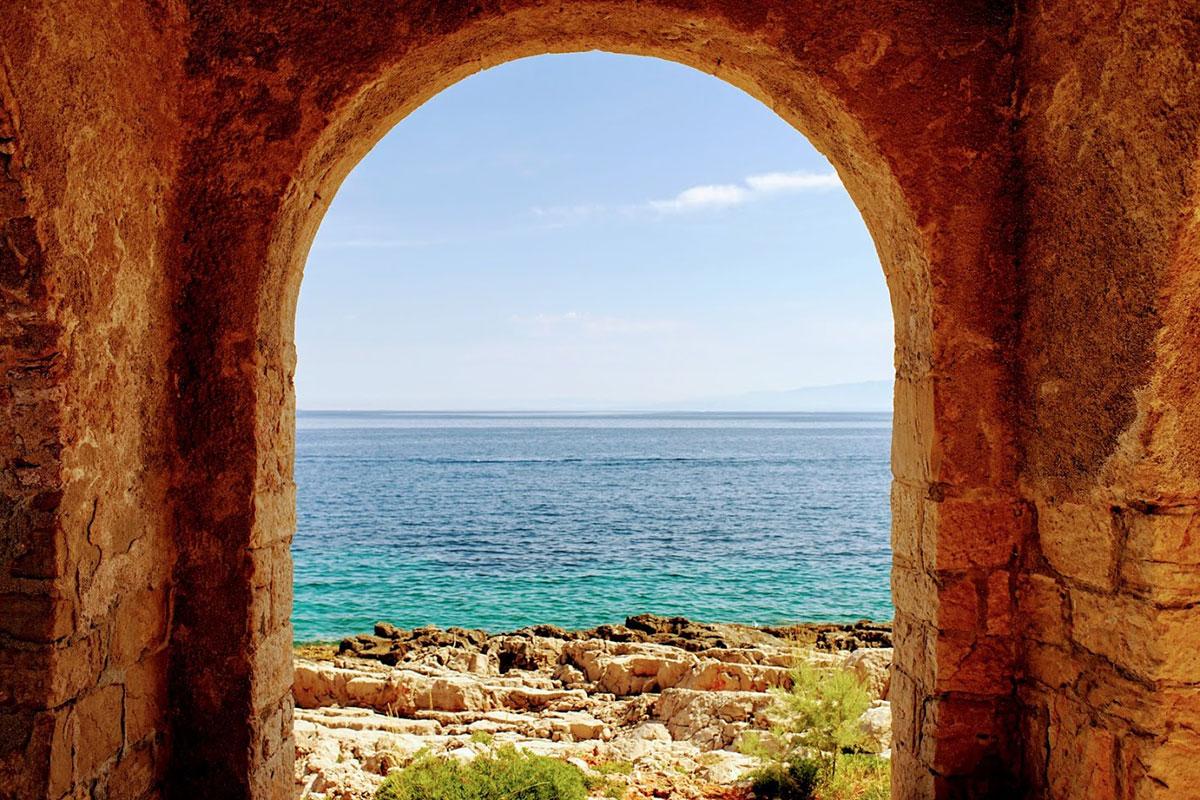 Pogled na more, Lošinj