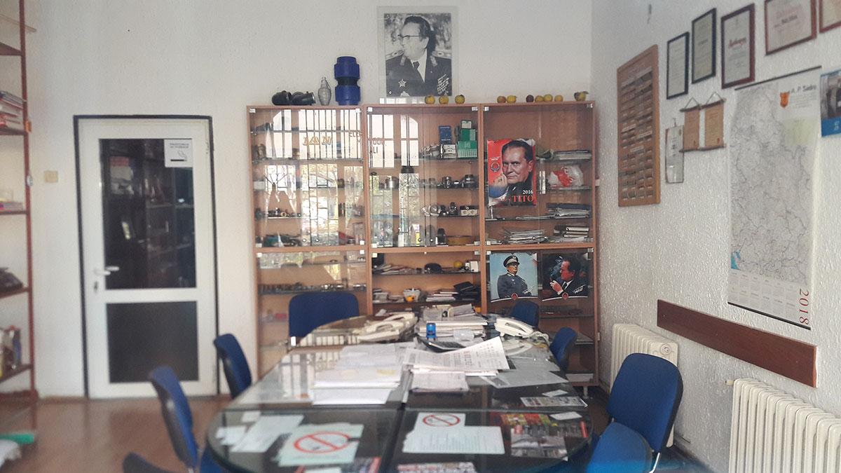 Memorijalna soba posvećena Titu, Blok 45, Beograd 2018.