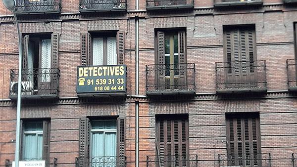 Reklama za detektivsku agenciju, Madrid