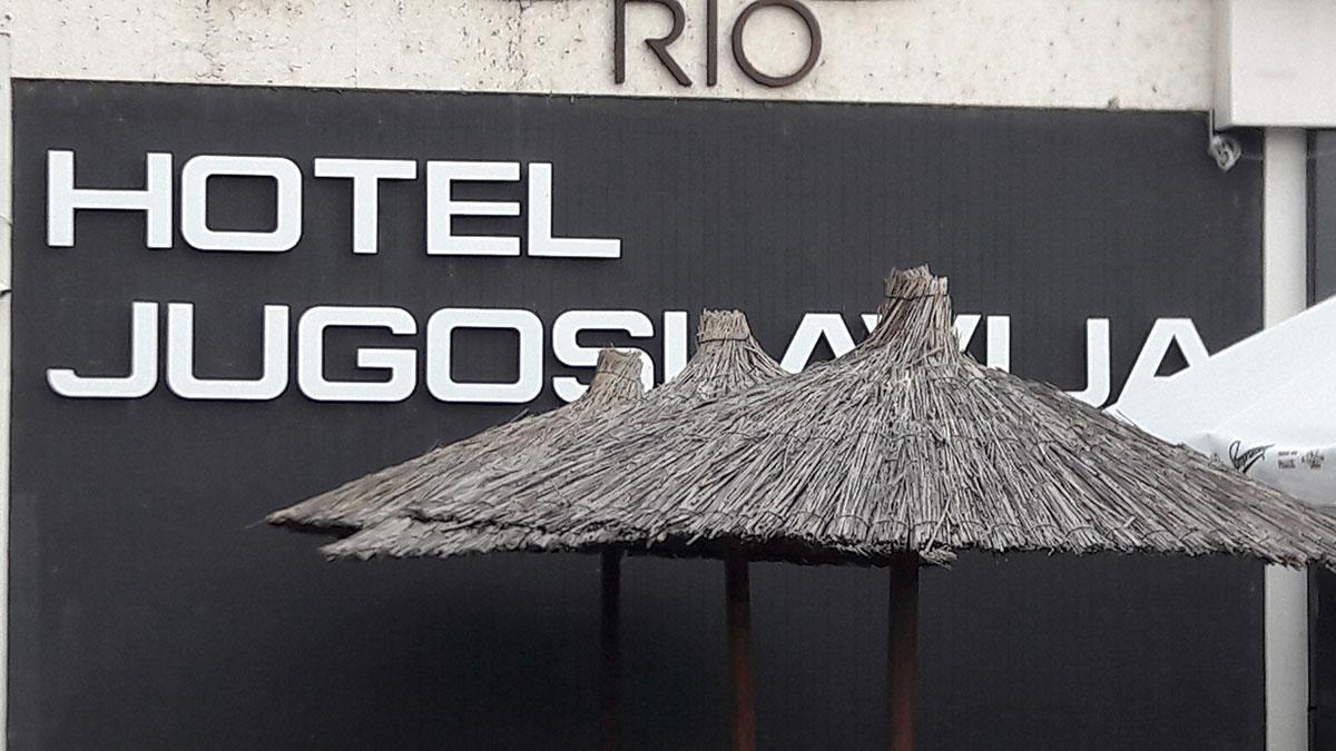 Hotel Jugoslavija na Novom Beogradu
