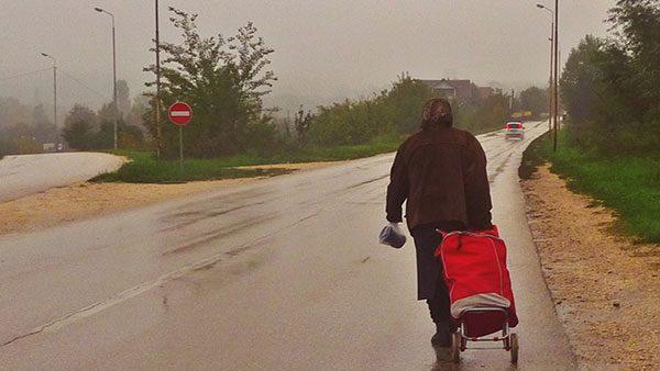 Žena na putu