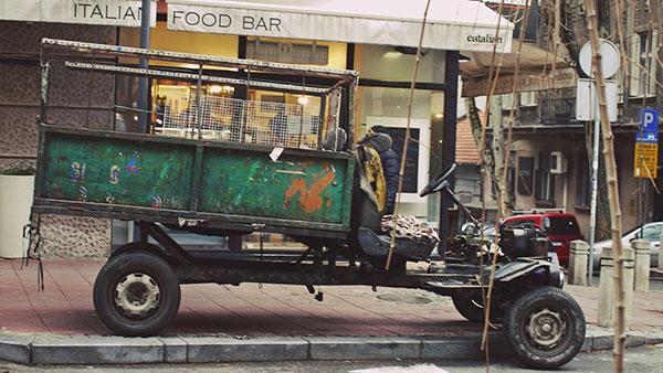 kamion za prevoz sekundarnih sirovina