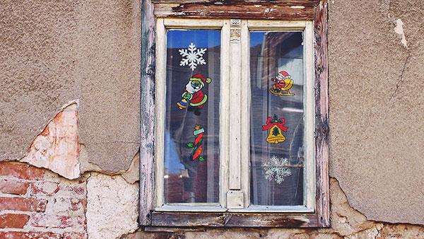 ukrašen prozor
