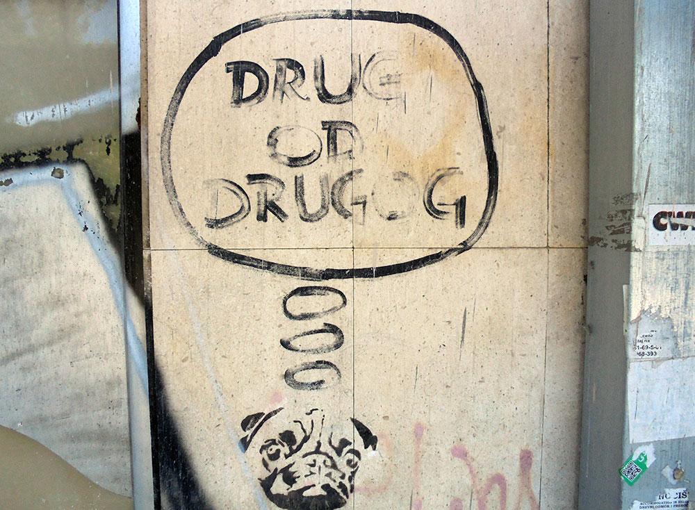 Natpis na zidu: Drugi od drugog
