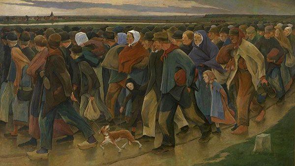 Eugène Laermans, Emigranti (1896)