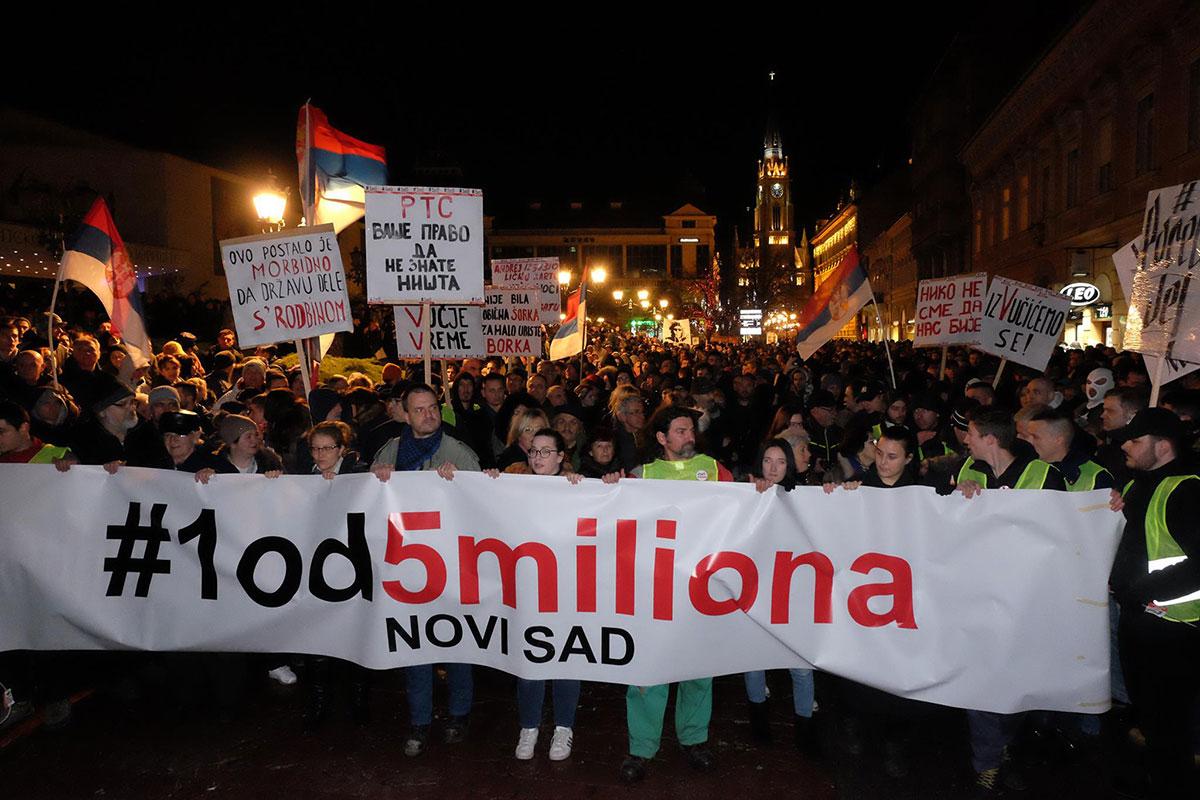 #1od5miliona Novi Sad