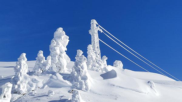 Sneg na planini, Austrija