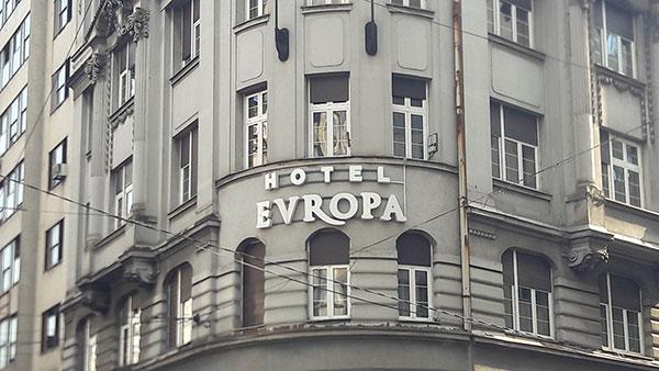 Hotel Evropa, Beograd