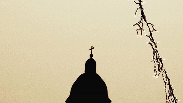 senka kupole crkve