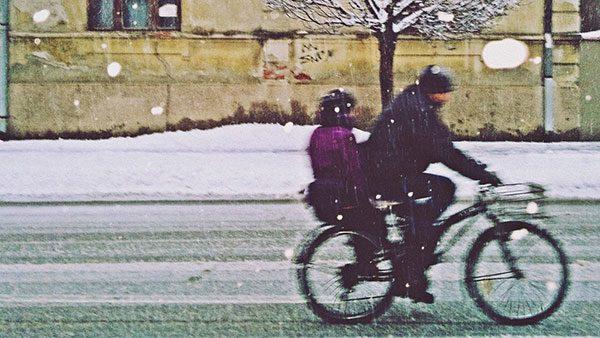 dvoje na biciklu