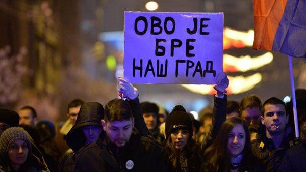 Protesti u Nišu