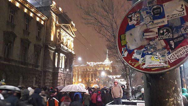 Protesti u Beogradu 5. januara