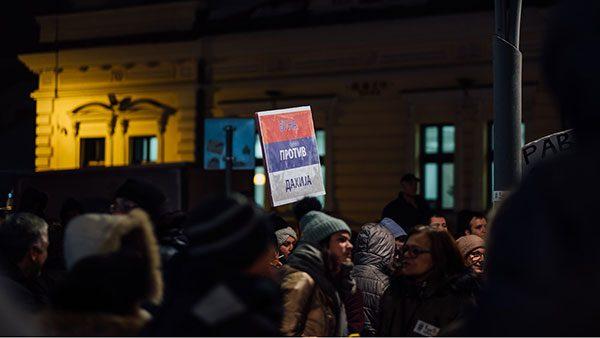 transparent sa protesta #1od5miliona: Buna protiv dahija