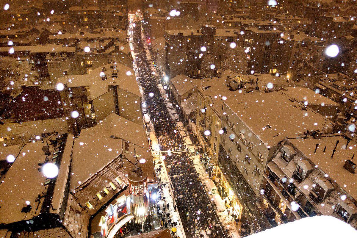 protest #1od5miliona, Beograd
