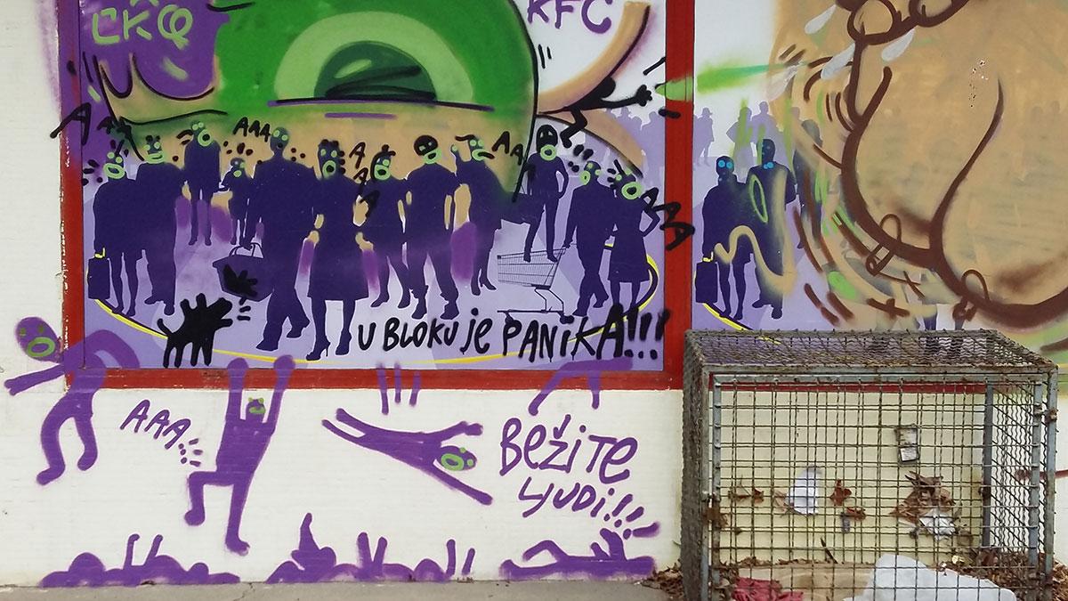 Grafit: U bloku je panika!!! Bežite ljudi!!!