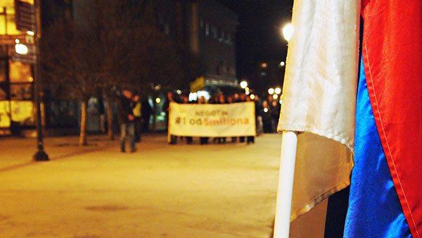Protest 1od5miliona u Negotinu