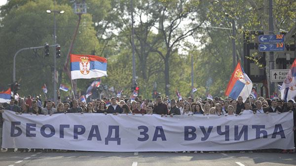 Transparent: Beograd za Vučića