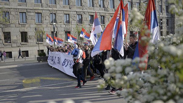 Kontramiting vlasti u Beogradu 19. aprila 2019.