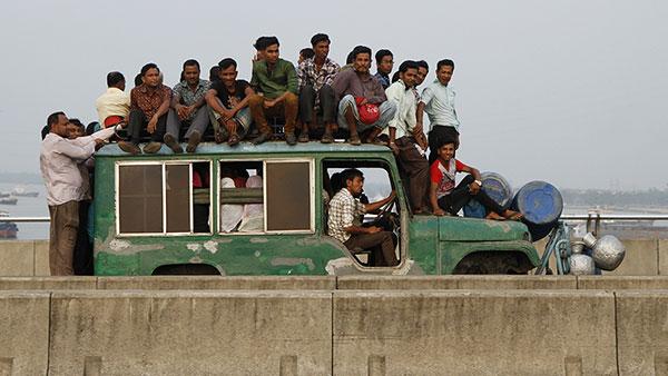 Javni prevoz, Čitagong, Bangladeš