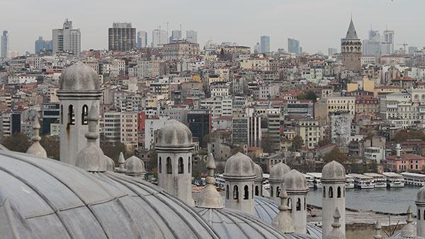 Pogled na Bejoglu, Istanbul