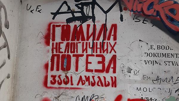 Stensil na zidu: Gomila nelogičnih poteza zbog ljubavi
