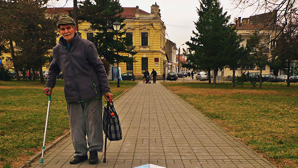 Starac sa štapom