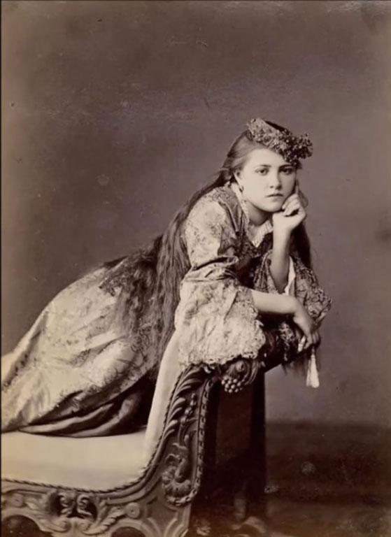 Kurdska žena iz Kirkuka 1922.