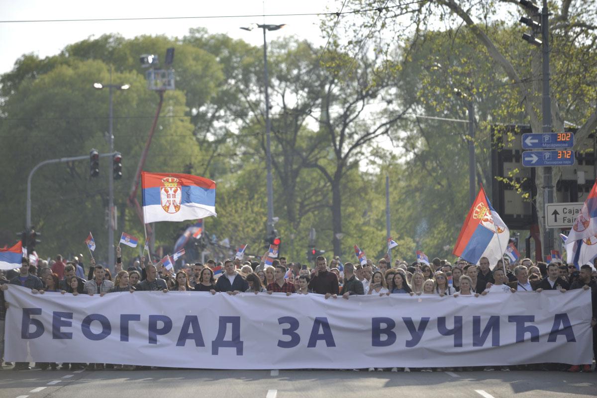 Transparent: Beograd za Vučića, 19.04.2019.