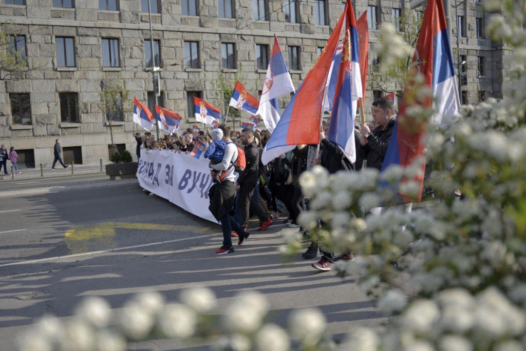 Kontramiting vlasti u Beogradu 19. aprila 2019, foto: Ivan Šepić