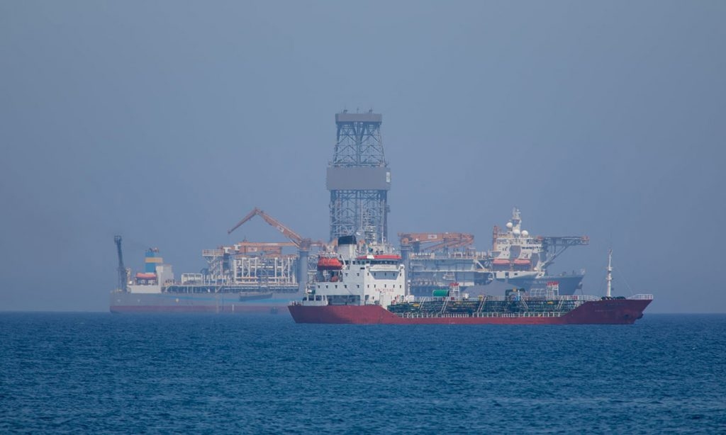 Traganje za prirodnim gasom kraj obala Limasola, Kipar, foto: Athanasios Gioumpasis/Getty Images
