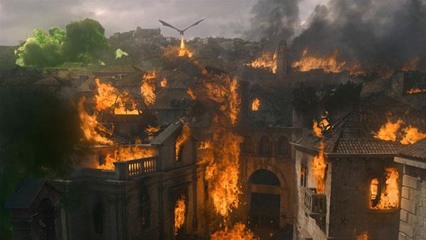 Kraljeva Luka u plamenu