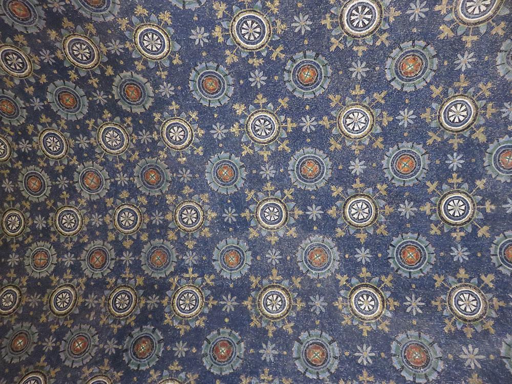 Tavanica u Mauzoleju Gale Placidije, Ravena