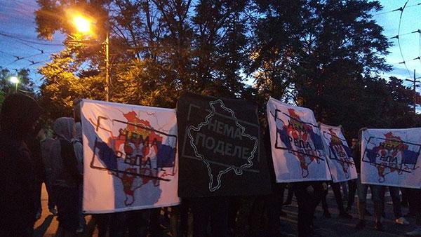 """Nema podele, Nema predaje: desničari na festivalu """"Mirëdita, dobar dan!"""" u Beogradu"""