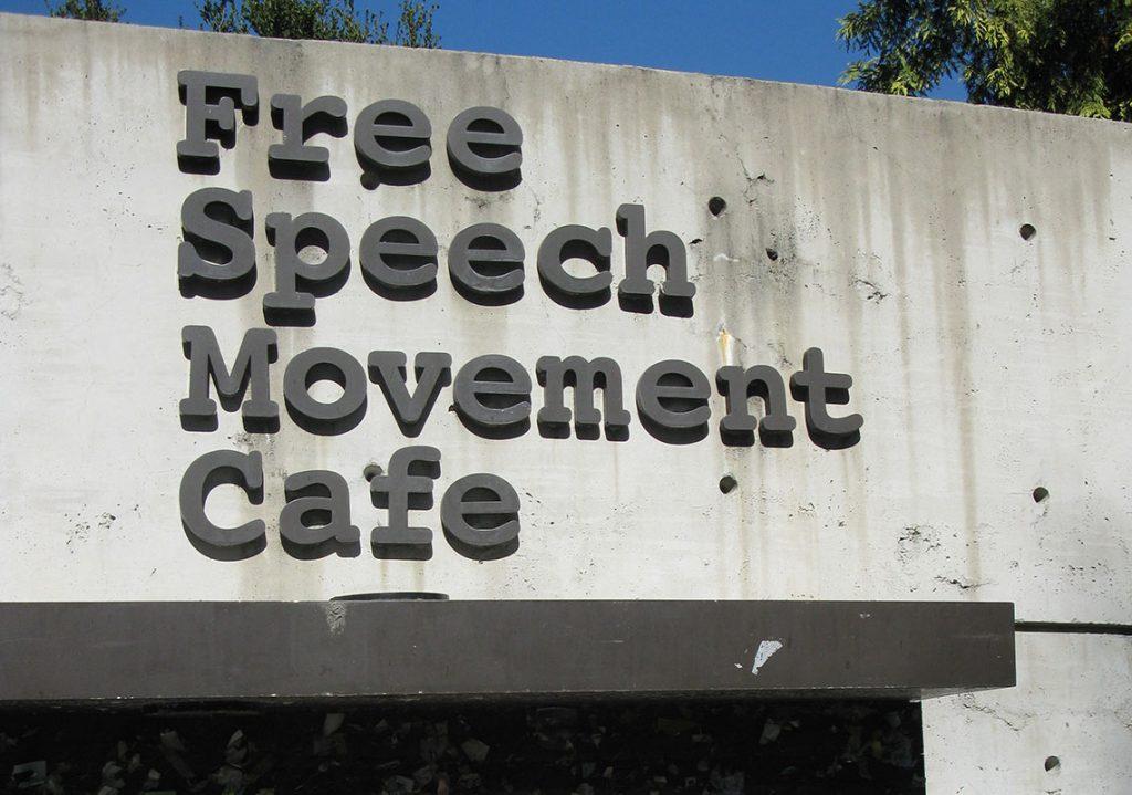 """Kafe """"Pokret za slobodu govora"""" na univerzitetu Berkli, SAD"""
