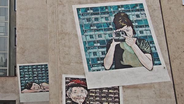 Fotografije na zidu