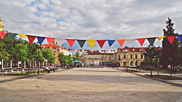 Gradski trg u Negotinu