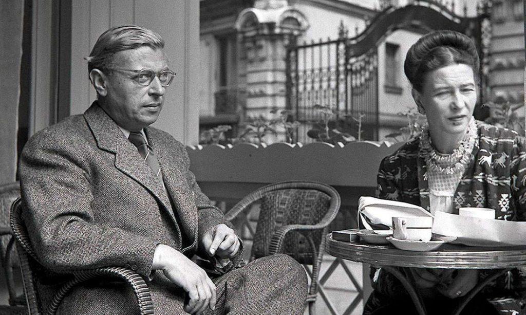 Jean-Paul Sartre i Simone de Beauvoir u Parizu 1940, foto: Sipa Press/Rex Features