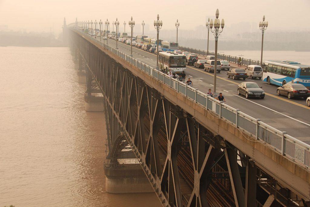 Most na reci Yangtze, Nanjing, foto: Konstantin Novaković